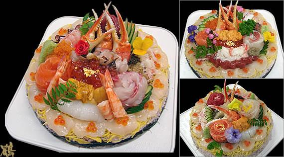 Sushi-deco-cake