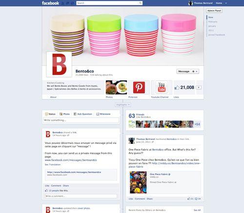 Bento&co Facebook page